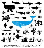 large collection of... | Shutterstock .eps vector #1236156775