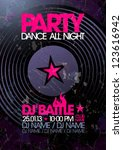 Dance All Night. Party Design...