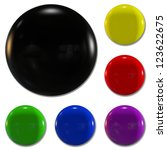 collection of color badge with...