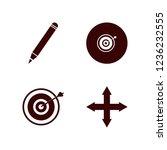 sharp icon. sharp vector icons... | Shutterstock .eps vector #1236232555