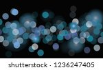 vector  black background with... | Shutterstock .eps vector #1236247405
