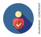 manage account icon. user... | Shutterstock .eps vector #1236250165