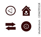 guidance icon. guidance vector... | Shutterstock .eps vector #1236255118