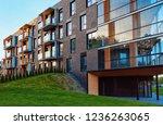 vilnius  lithuania   may 8 ... | Shutterstock . vector #1236263065