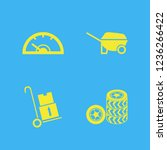wheel icon. wheel vector icons... | Shutterstock .eps vector #1236266422