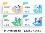 presentation slide templates or ... | Shutterstock .eps vector #1236271468