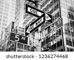 new york  usa   may 01  2016 ... | Shutterstock . vector #1236274468