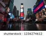 new york  usa   apr 30  2016 ... | Shutterstock . vector #1236274612