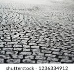 historic stone cobble in the... | Shutterstock . vector #1236334912