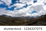 view from a high altitude pass... | Shutterstock . vector #1236337075
