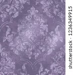 vintage baroque ornamented... | Shutterstock .eps vector #1236349915