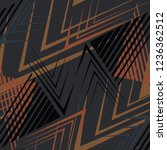 abstract geometric seamless... | Shutterstock .eps vector #1236362512