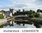 View of Kilkenny Castle from the Bridge. Ireland