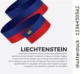 liechtenstein flag for... | Shutterstock .eps vector #1236450562