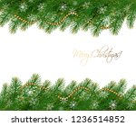christmas holiday background... | Shutterstock .eps vector #1236514852