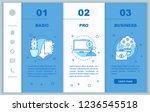 business development onboarding ... | Shutterstock .eps vector #1236545518