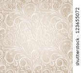 seamless floral pattern   Shutterstock . vector #123655072