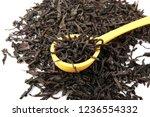 dried black tea leaves | Shutterstock . vector #1236554332