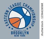 basket ball athletic sport... | Shutterstock .eps vector #1236626068