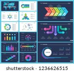 business infographic diagram... | Shutterstock .eps vector #1236626515