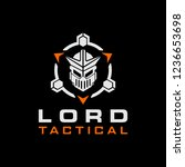 lord knight tactical military... | Shutterstock .eps vector #1236653698