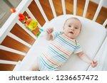 adorable baby girl in co...   Shutterstock . vector #1236657472