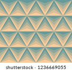 abstract geometric retro... | Shutterstock .eps vector #1236669055
