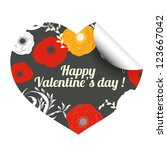 valentine.   Shutterstock .eps vector #123667042