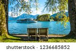 famous tegernsee lake in... | Shutterstock . vector #1236685852