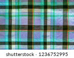 blue and black tartan texure... | Shutterstock . vector #1236752995