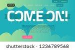 desktop landing page for web...