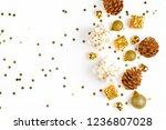 christmas composition.... | Shutterstock . vector #1236807028
