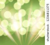 green abstract vector background | Shutterstock .eps vector #1236811375