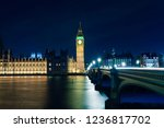 big ben at night  london   uk  | Shutterstock . vector #1236817702