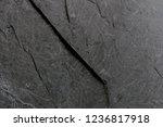 dark grey black slate... | Shutterstock . vector #1236817918
