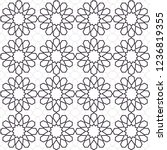 seamless pattern in authentic...   Shutterstock .eps vector #1236819355