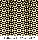 seamless pattern in authentic...   Shutterstock .eps vector #1236819382