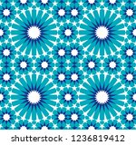 seamless pattern in authentic...   Shutterstock .eps vector #1236819412