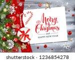 holiday winter template   Shutterstock .eps vector #1236854278
