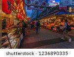 ameyoko is a busy market street ...   Shutterstock . vector #1236890335