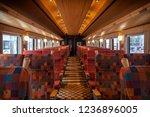 a historic train serve between...   Shutterstock . vector #1236896005