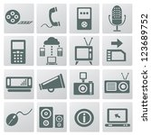 web social icons vector