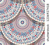 seamless pattern  with...   Shutterstock .eps vector #1236927418