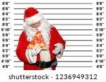 santa claus christmas. santa... | Shutterstock . vector #1236949312