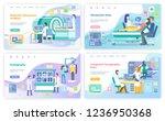 magnetic resonance imaging ... | Shutterstock .eps vector #1236950368