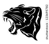 africa,african,aggression,aggressive,anger,animal,art,big,black,carnivore,cat,clip-art,cougar,courage,danger