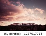 pikes peak dited to look... | Shutterstock . vector #1237017715