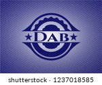 dab with denim texture | Shutterstock .eps vector #1237018585
