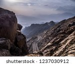 mecca road through taif in...