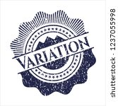 blue variation distressed... | Shutterstock .eps vector #1237055998